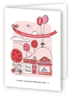 Around Town Kids Birthday Greeting Cards