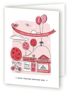 Around Town Kids Birthday Greeting Cards