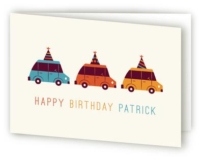 Birthday Cruising Kids Birthday Greeting Cards
