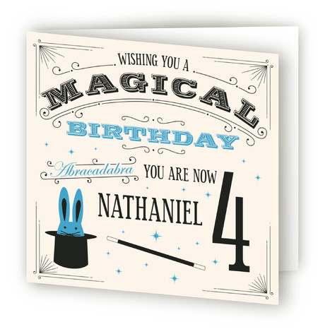Magical Birthday Kids Birthday Greeting Cards
