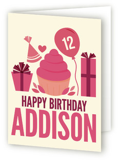 Birthday Basics Kids Birthday Greeting Cards