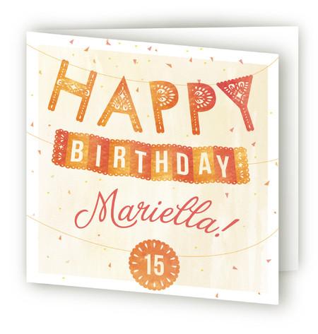 Fiesta! Kids Birthday Greeting Cards