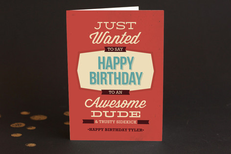 Thanks for the Thing Birthday Greeting Cards