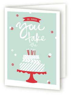 Washi Tape Birthday Cake Greeting...