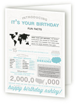 Birthdays & Infographics