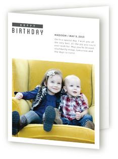 The Minimal Birthday Greeting Cards