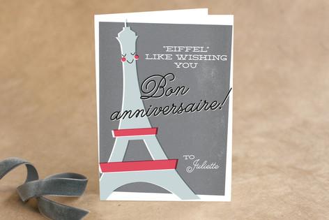 Happy Birthday from France Birthday Greeting Cards
