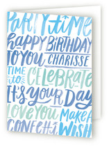 Lettering Birthday by Alethea and Ruth
