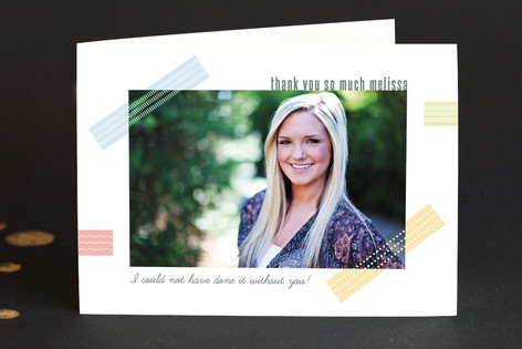 Family Craft Adult Thank You Greeting Cards