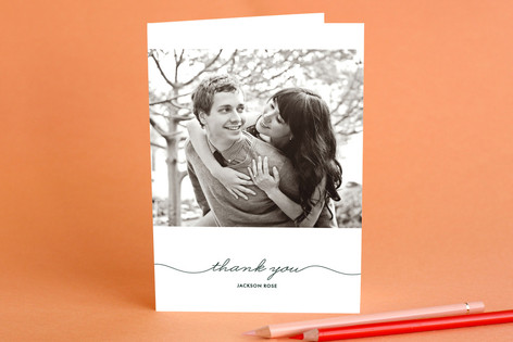 Beautifully Penned Adult Thank You Greeting Cards