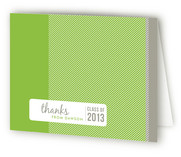 Stylin' Graduation Announcement Thank You Cards