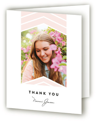 Moving Up Graduation Announcement Thank You Cards
