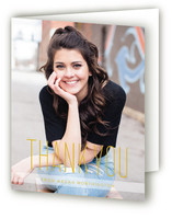 Named Grad Graduation Thank You Cards