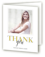 Through the Years Graduation Thank You Cards