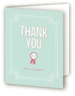 The Graduate Graduation Announcement Thank You Cards