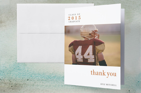 float + celebrate Graduation Thank You Cards
