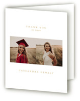 From Here To There Graduation Thank You Cards