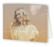 Poetic Graduation Thank You Cards