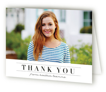 Northernly Graduation Announcement Thank You Cards