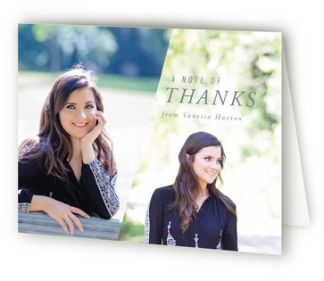 Fresh Perspective Graduation Announcement Thank You Cards