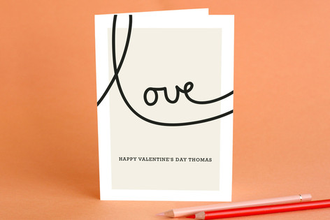 Sweet Sophistication Valentine's Day Greeting Cards