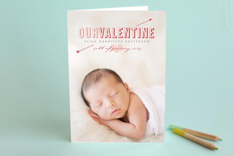 First Valentine Valentine's Day Greeting Cards