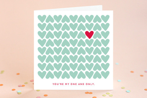 One and Only Valentine's Day Greeting Cards