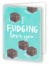I FUDGING love you by Novel Paper