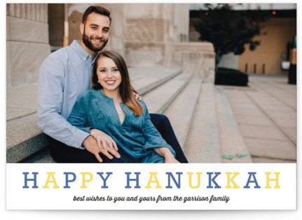 Famille Hanukkah Cards