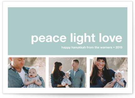 Modern Joy Hanukkah Cards