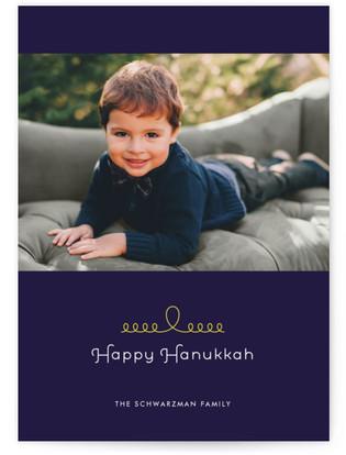 String of Lights Hanukkah Cards