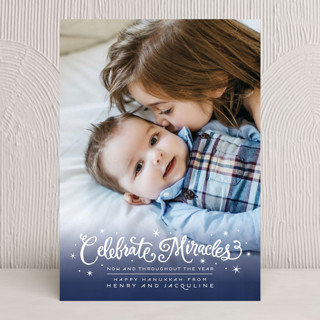 Celebrate Miracles Hanukkah Cards