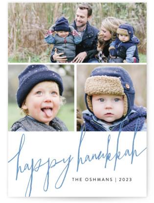 Trio Script Hanukkah Cards