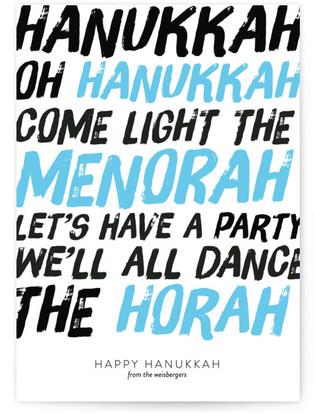 Oh Hanukkah! Hanukkah Cards