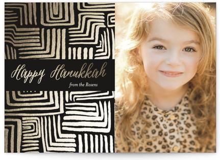 Hanukkah Maze Hanukkah Cards