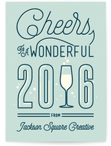 Bubbly New Year by GeekInk Design