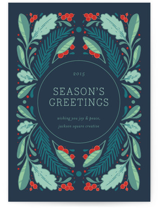 Woodberry Forest Business Holiday Cards