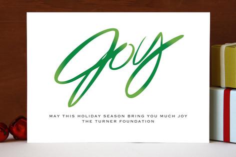 Joyful Business Holiday Cards