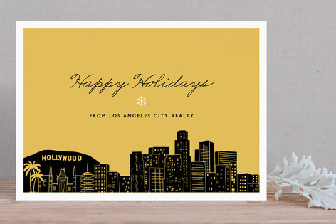 Big City - Los Angeles Business Holiday Cards