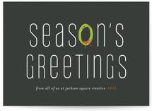 Wreath Greetings by Sara Hicks Malone
