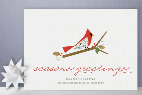 Winter Blessings Business Holiday Cards