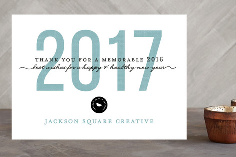 Print Year Business Holiday Cards