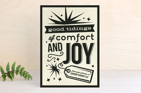 Simply Joyous Business Holiday Cards