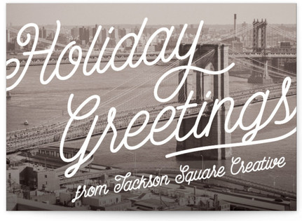 wish you were here Business Holiday Cards