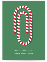 Candy cane paper clip