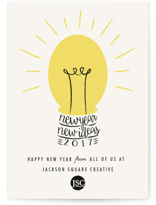 Bright Ideas Business Holiday Cards
