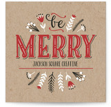 Be Merry Vintage Lettering