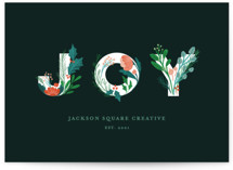 Botanical Joy Letters by curiouszhi design