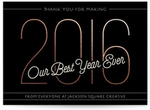 Best Year Ever by GeekInk Design