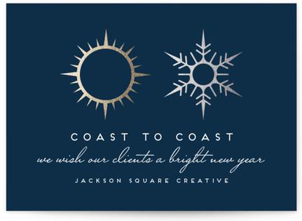 Coast To Coast Business Holiday Cards
